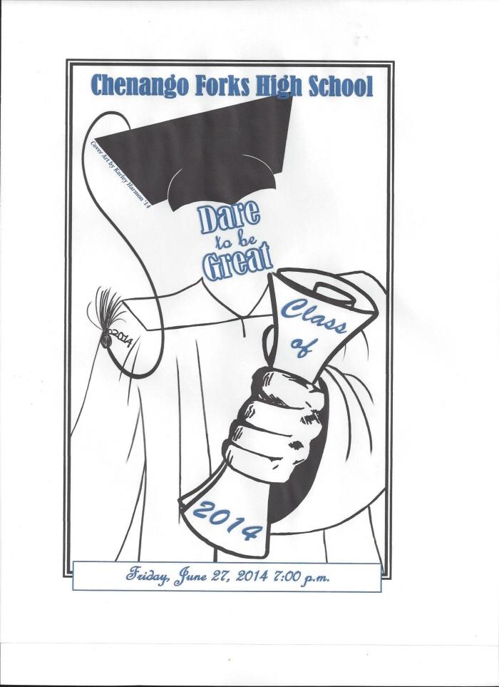 Graduation Pamphlet by Karley Harmon at Coroflot.com