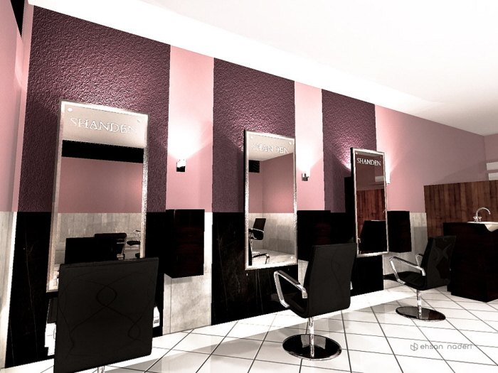 Beauty Salon Interior Design by Ehsan Naderi at Coroflotcom