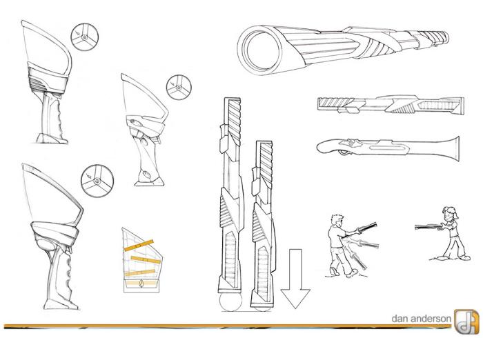 sketches by Dan Anderson at Coroflot.com