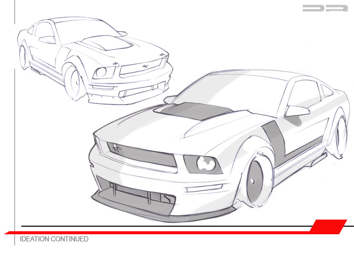 2005 DynatekRacing Mustang Concept to Reality by Thomas