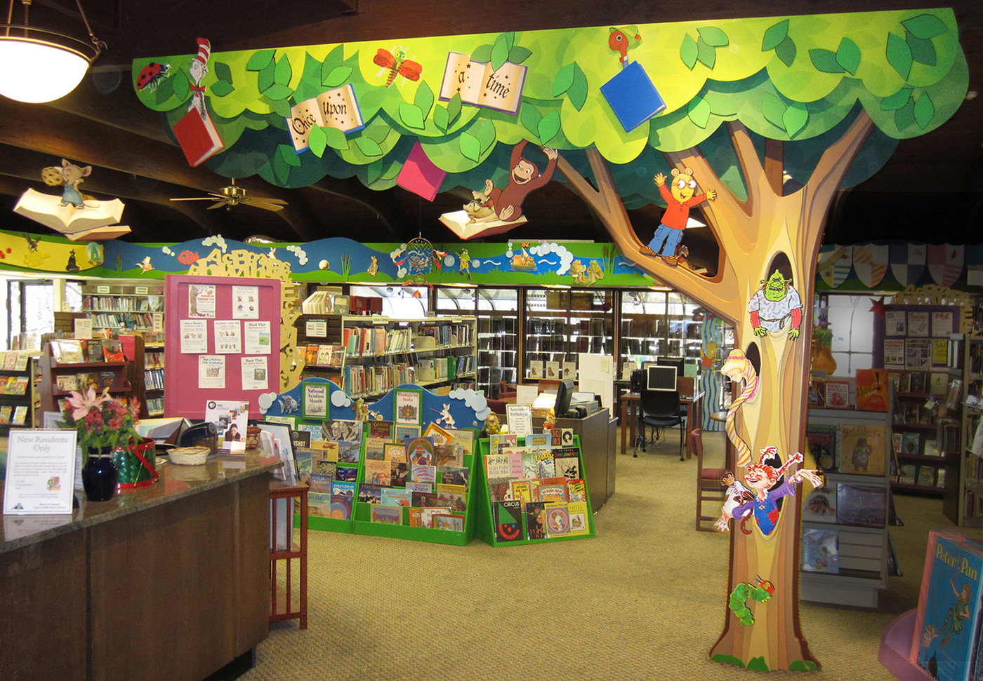 Childrens Library Design by Janice Davis at Coroflotcom