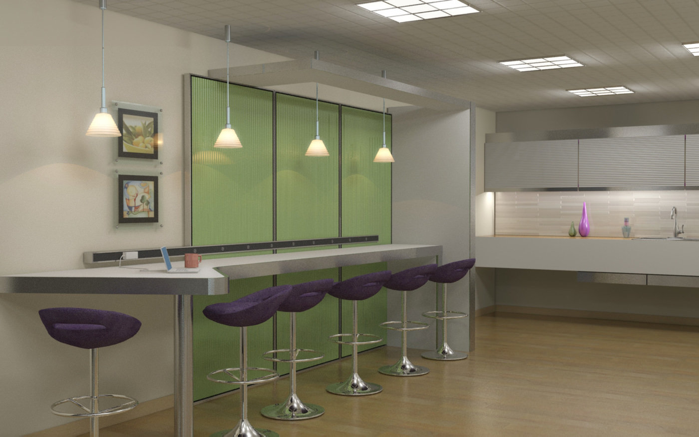 3D Interiors By Phillip Wharton At