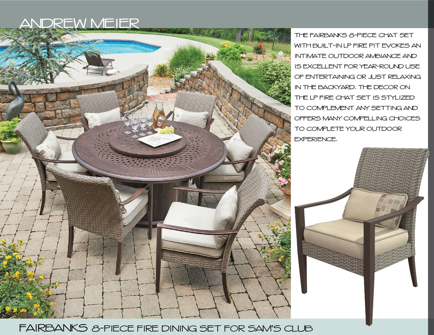 outdoor furniture by andrew meier at