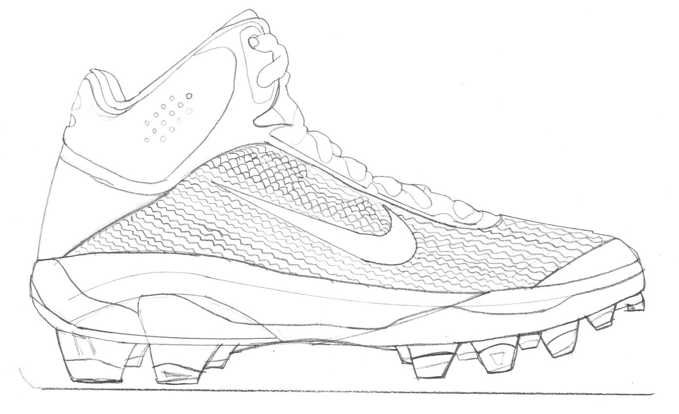 Senior Thesis Design Football Cleat by Michael Ryan Zaleta