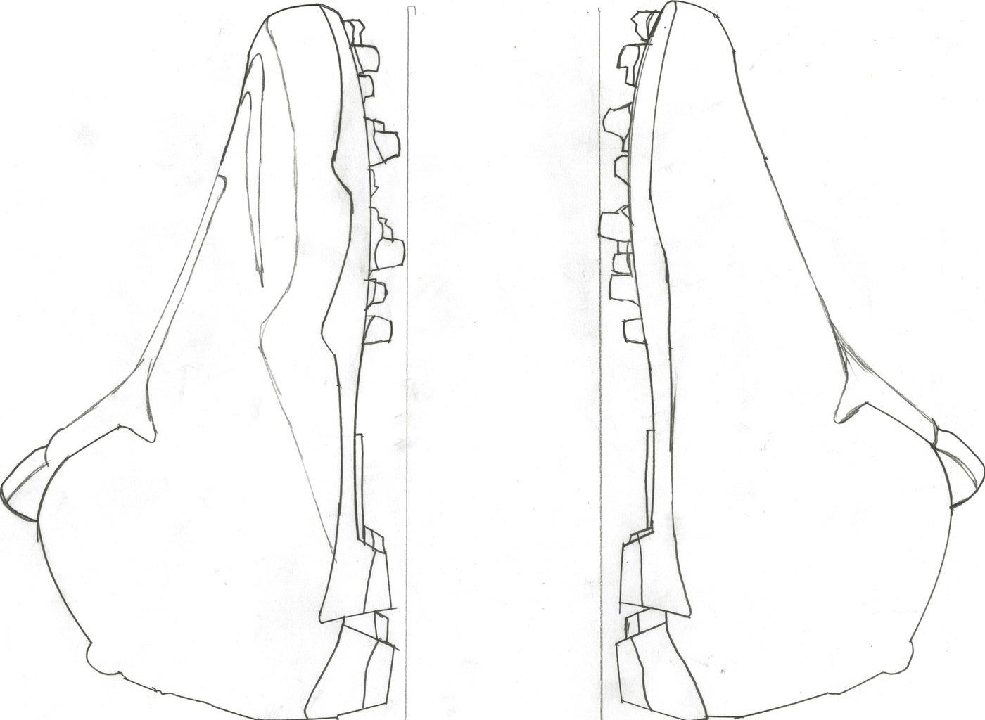 Senior Thesis Design Football Cleat by Michael Ryan Zaleta