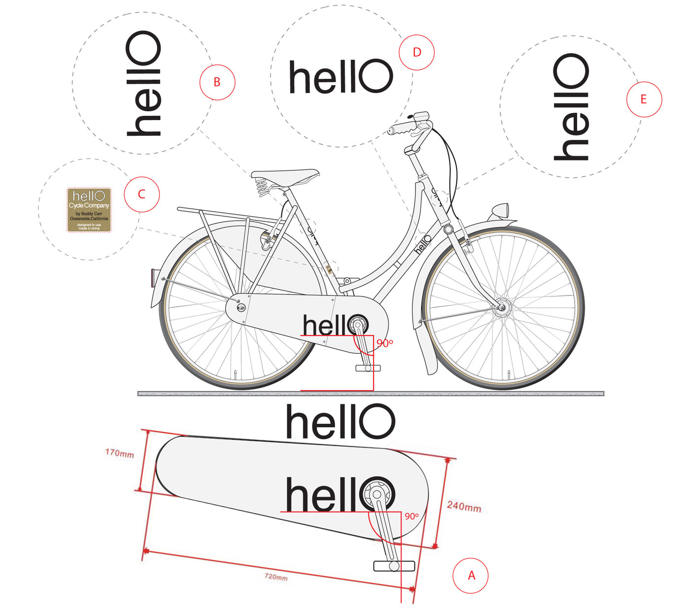 Hello Cycle Company Graphics Package by Michael Gamstetter