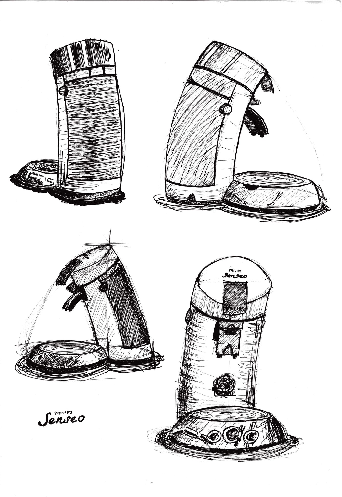 Design Sketches By Jan Bernd Rose At Coroflot