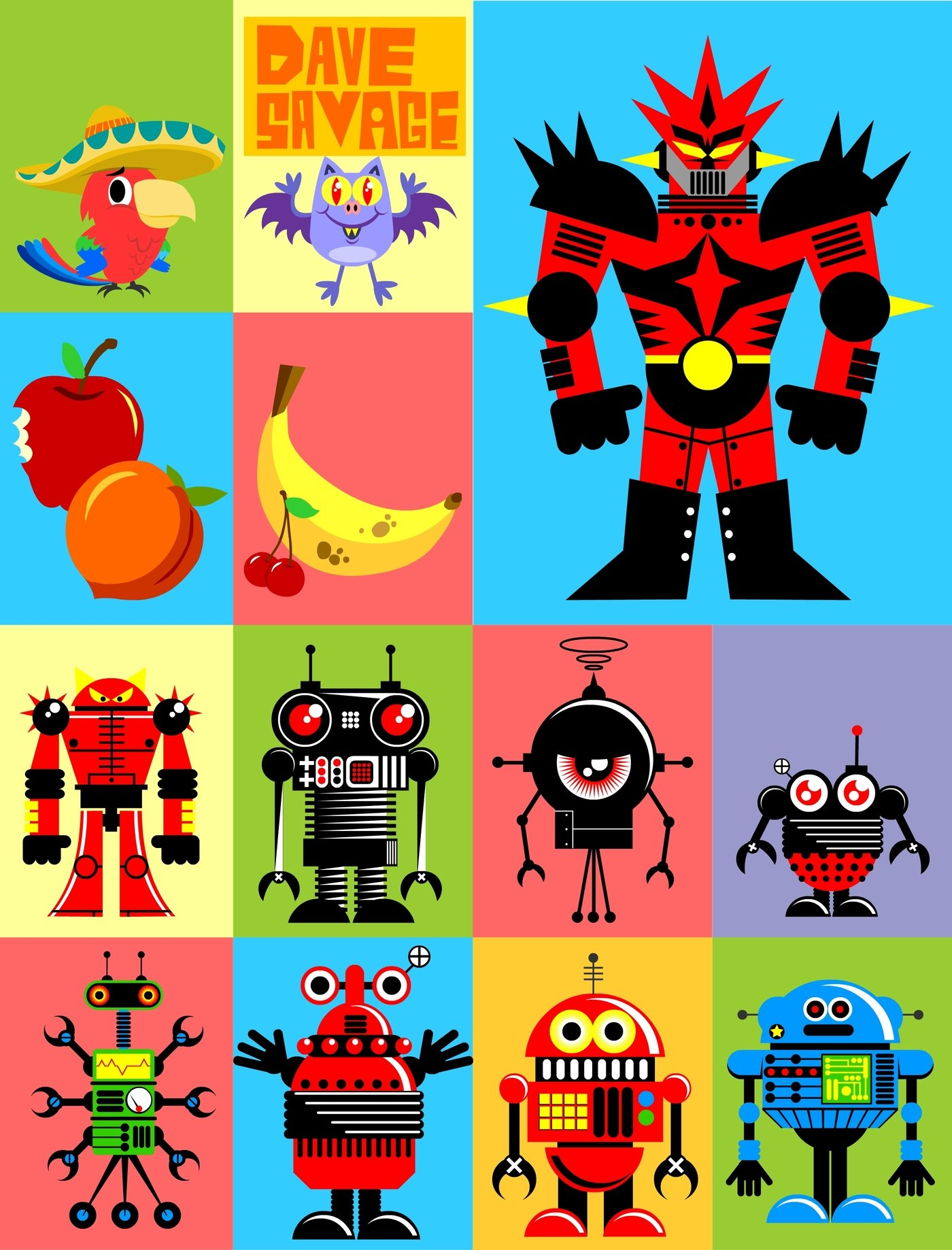 2d vector samples by