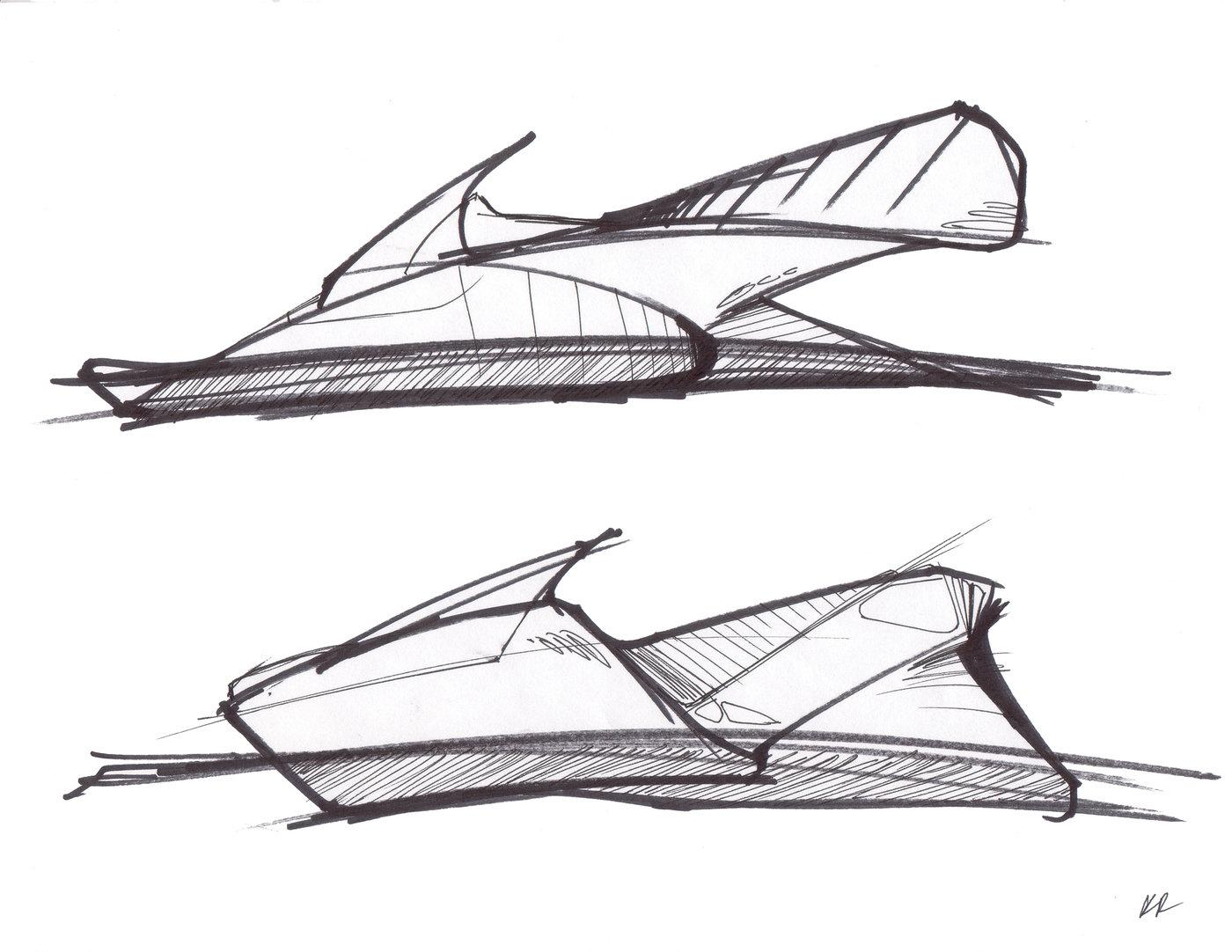 sketches by Ron Ruiz at Coroflot.com