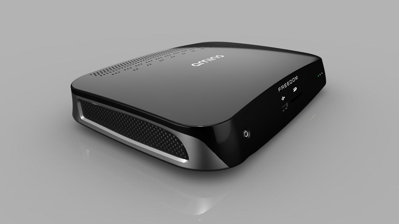 AMINO COMMUNICATIONS FREEDOM SET TOP BOX by Nuno Teixeira at Coroflotcom