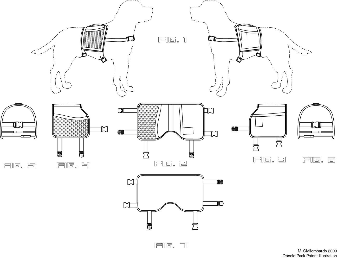 Technical Illustration by Michael Giallombardo at Coroflot.com