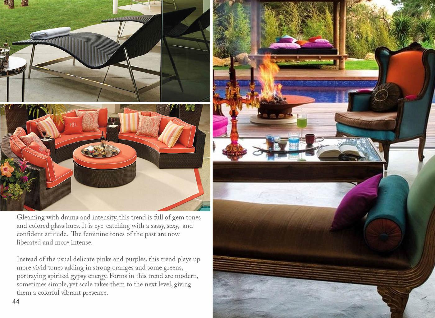Outdoor 2017 Furniture Trends