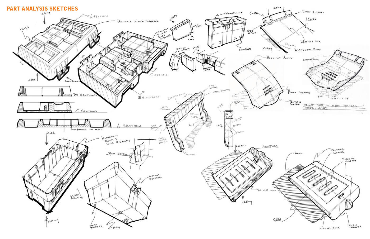 Sketches by Evan Hutker at Coroflot.com