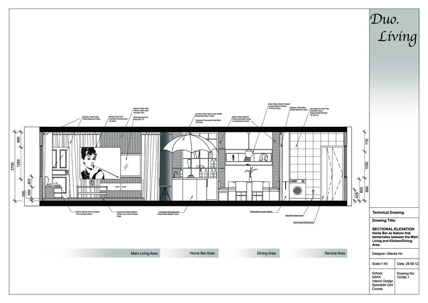 DuoLiving Home Design By Glenda Ho At
