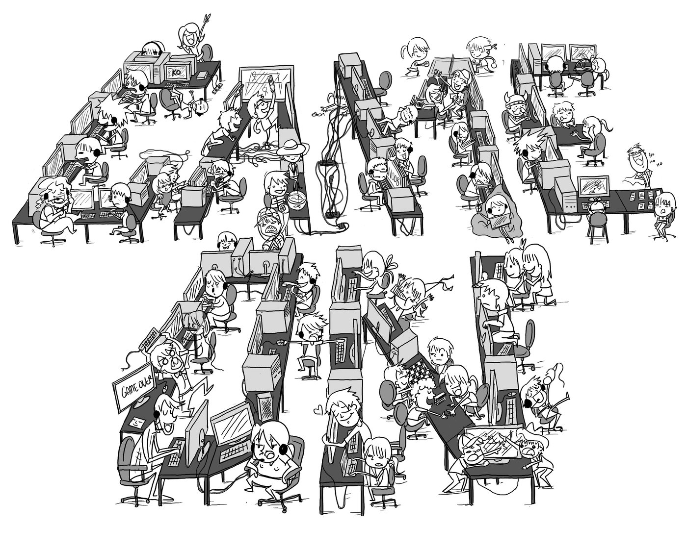Illustration by Madeleine L at Coroflot.com