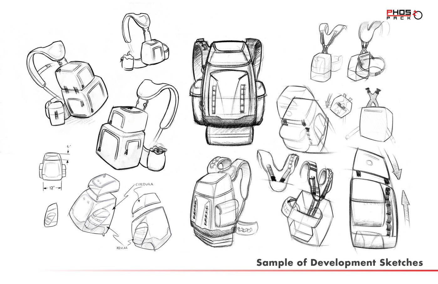 INDUSTRIAL DESIGN: Wildland firefighting pack system by