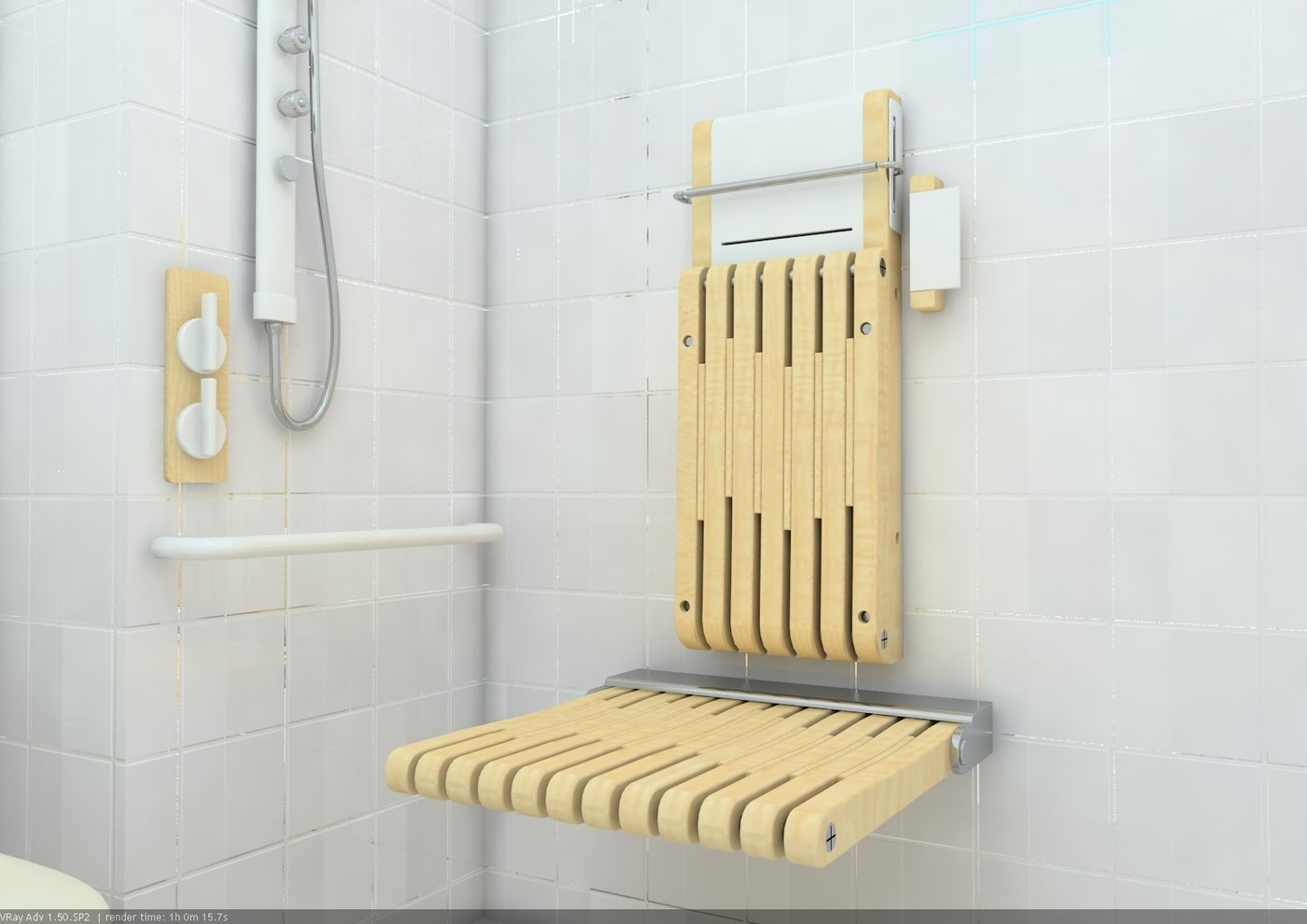 shower chair for elderly singapore wood kitchen tables and chairs sets easy seat people by rong pei at