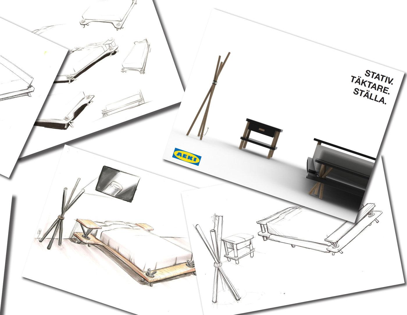 Aeki Furniture Design by Cesar Viramontes at Coroflot.com
