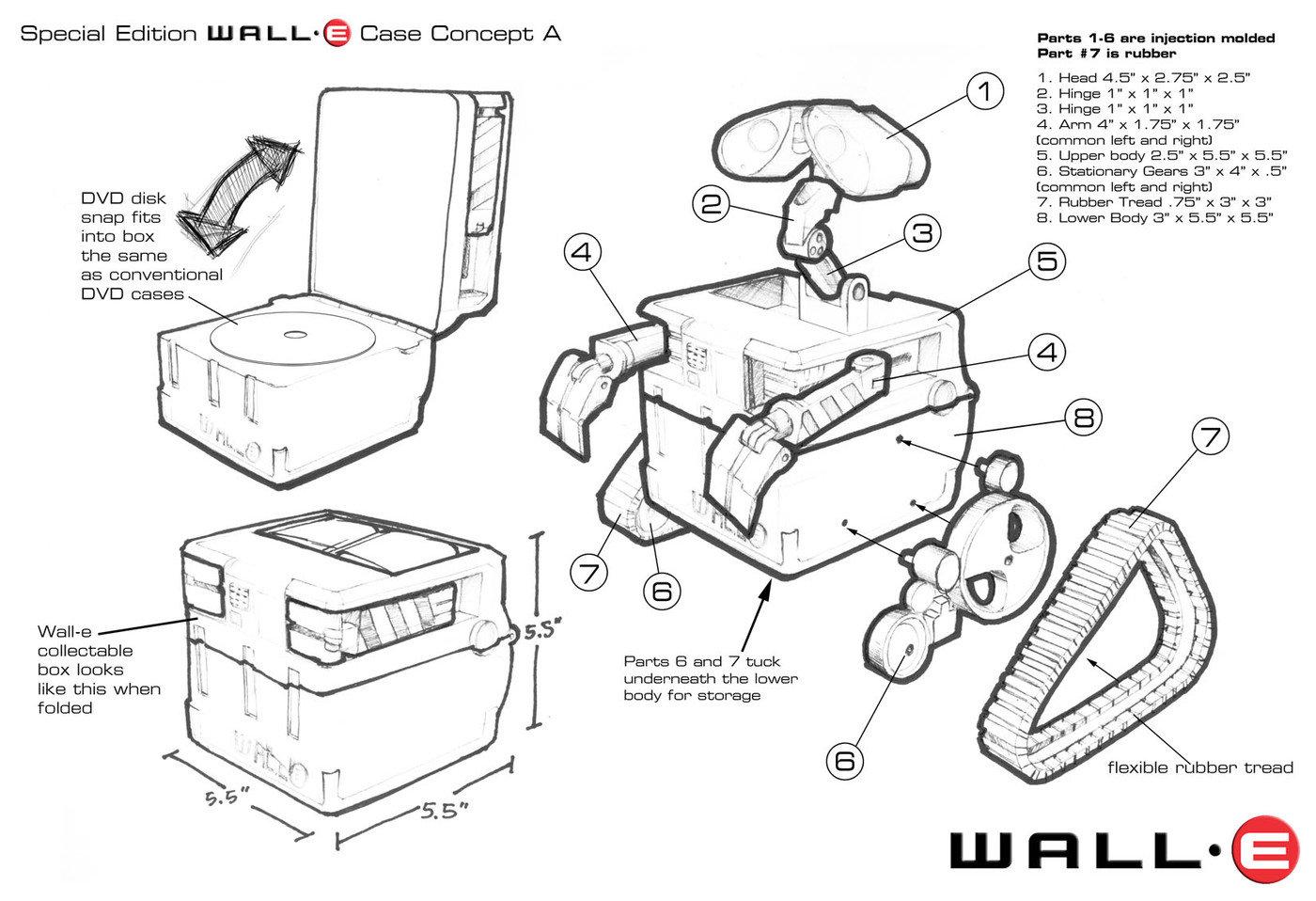 Wall-E DVD Case by John Villarreal at Coroflot.com