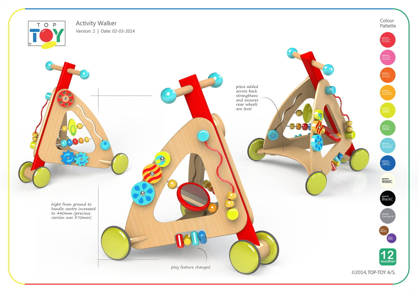 Br Wooden Activity Walker By Justin Worsley At Coroflot