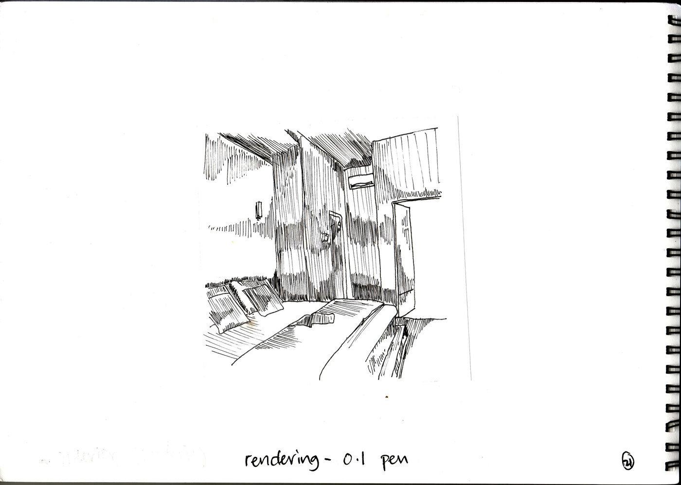 Sketches by Poh Chong Yuan at Coroflot.com