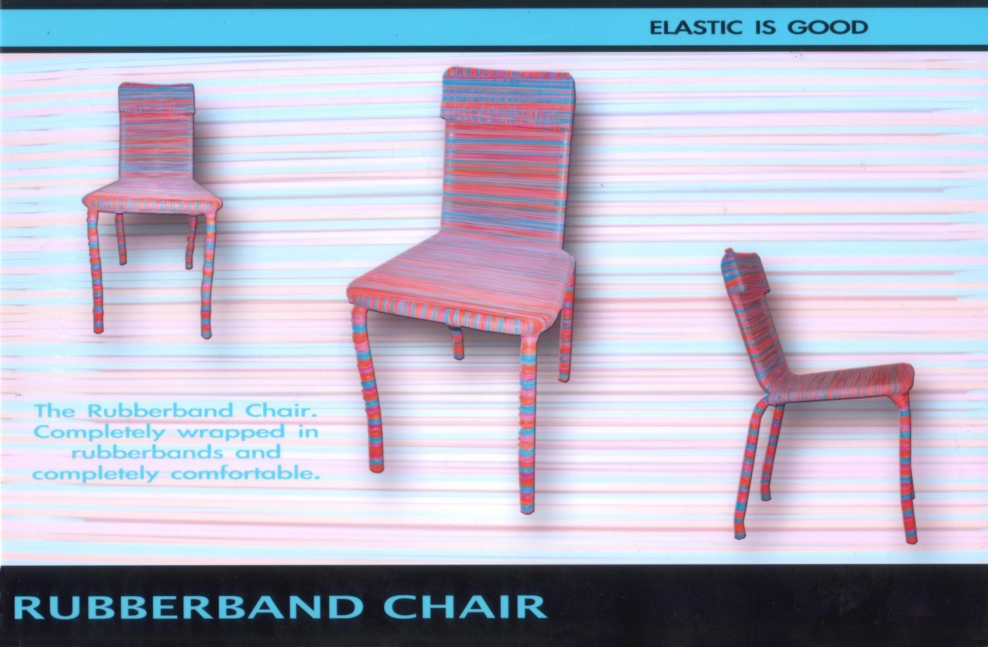 chair experimental design white plastic lawn chairs target harrington project rubberband
