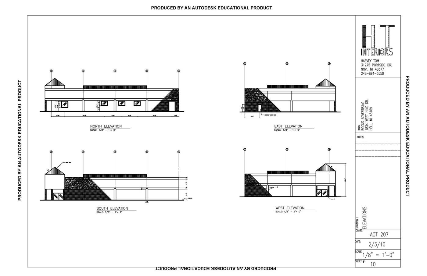 Architectual Commercial Design by Harvey Tom at Coroflot.com