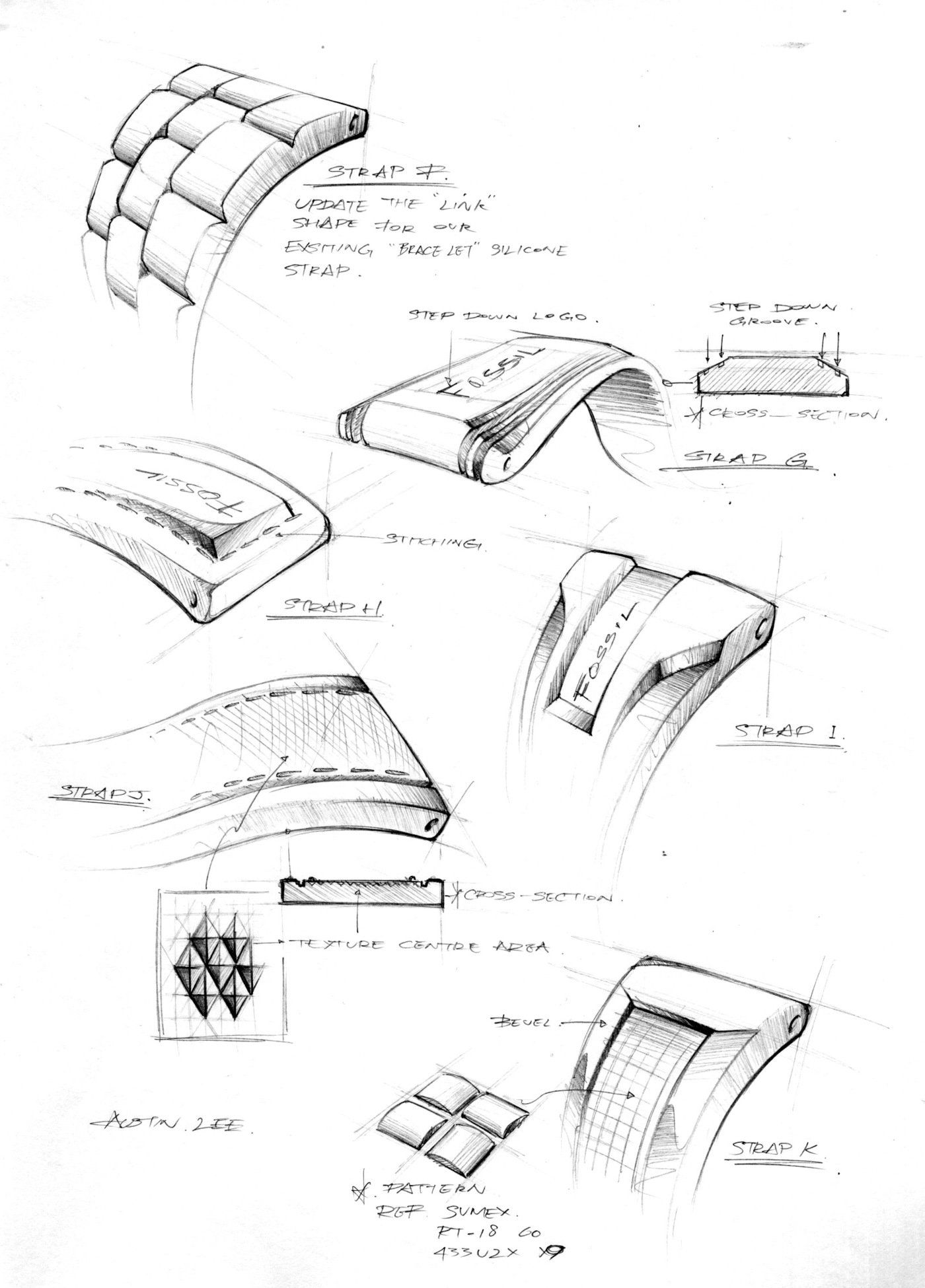 Sketches by Austin Lee at Coroflot.com