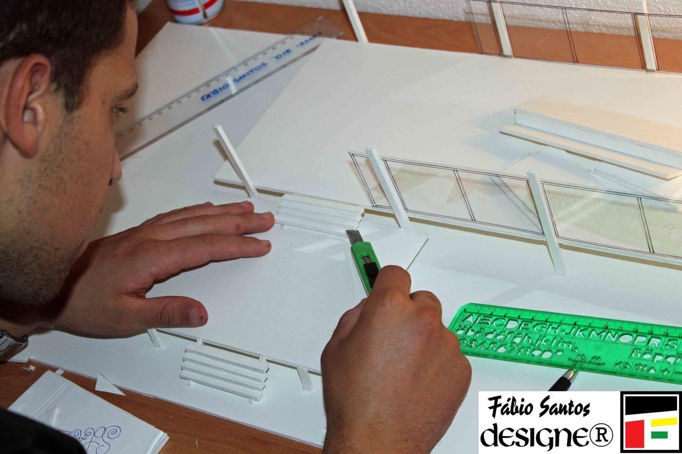 House Model Farnsworth Maquetas by Fabio Santos at Coroflotcom