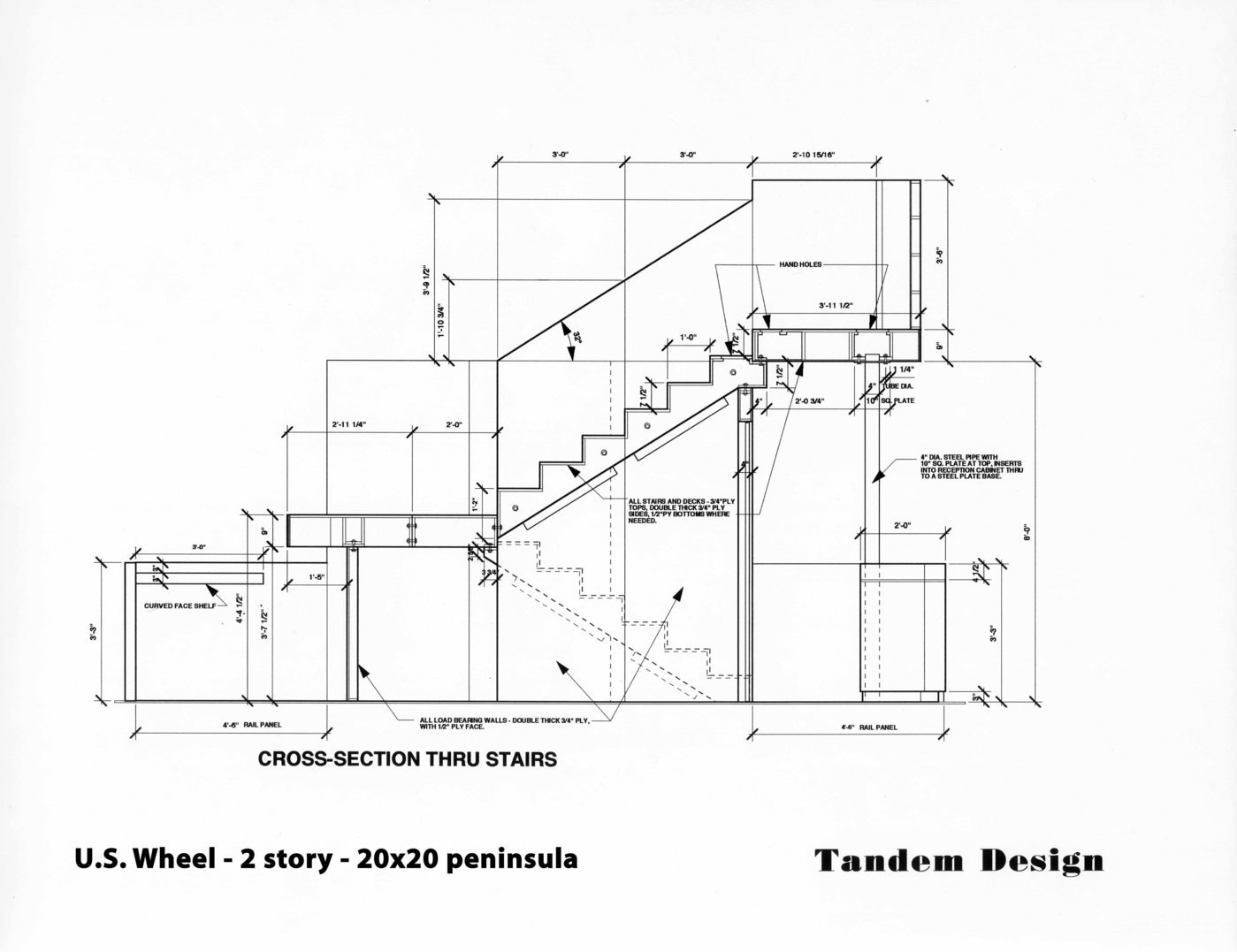 Technical Drawings by Mark Salyer at Coroflot.com