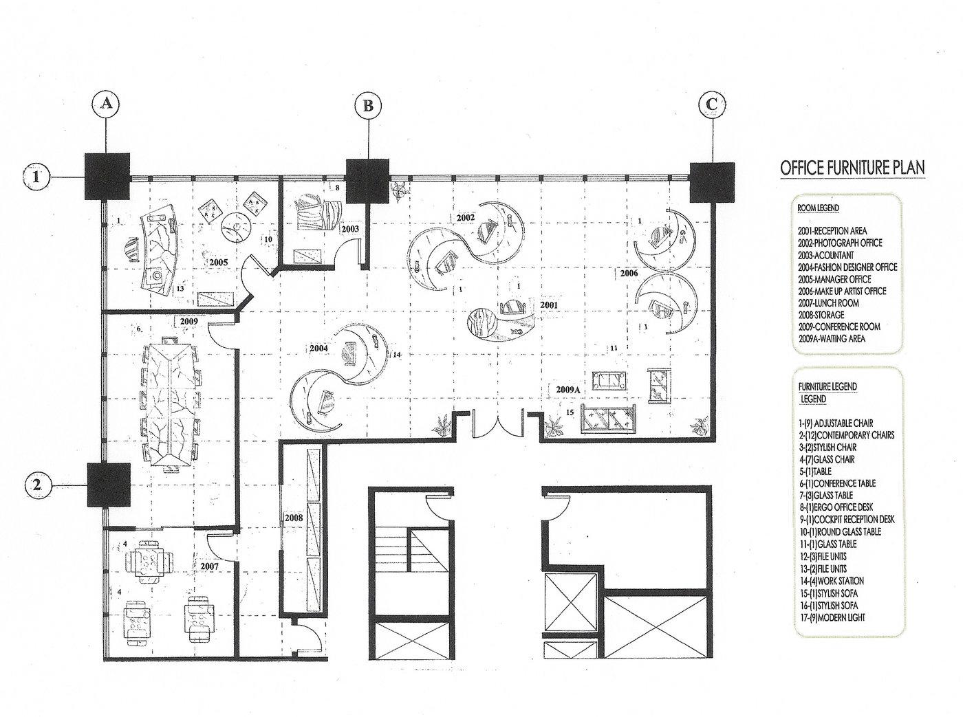 Office & Loft by Borzou R at Coroflot.com
