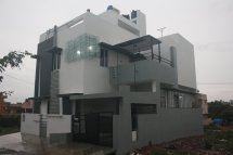 House Design Bangalore - Front Elevation Ashwin