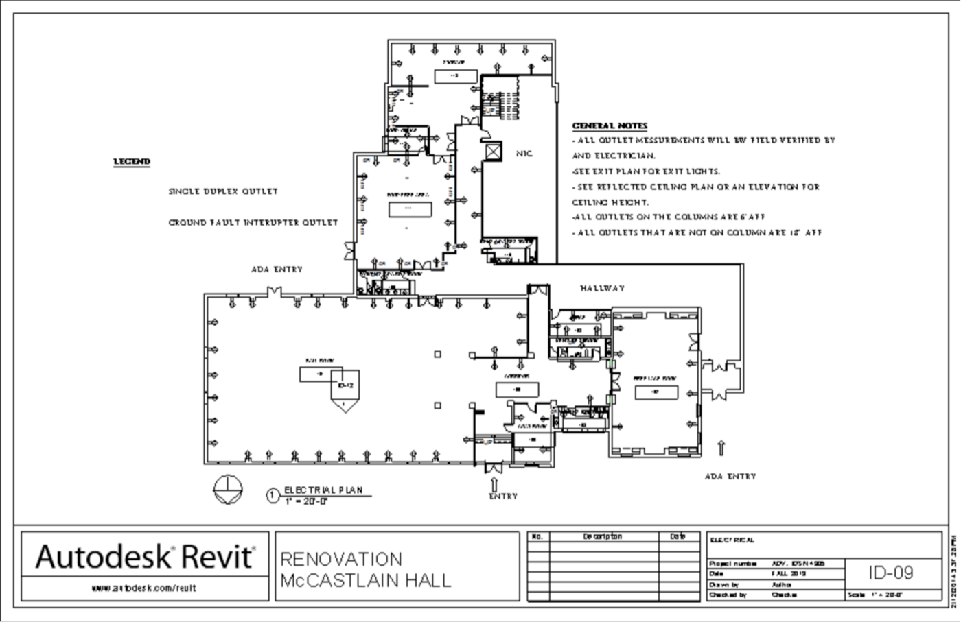Revit Electrical Plan