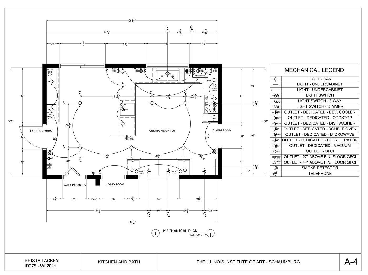 Kitchen and Bath Design by Krista Lackey at Coroflot.com