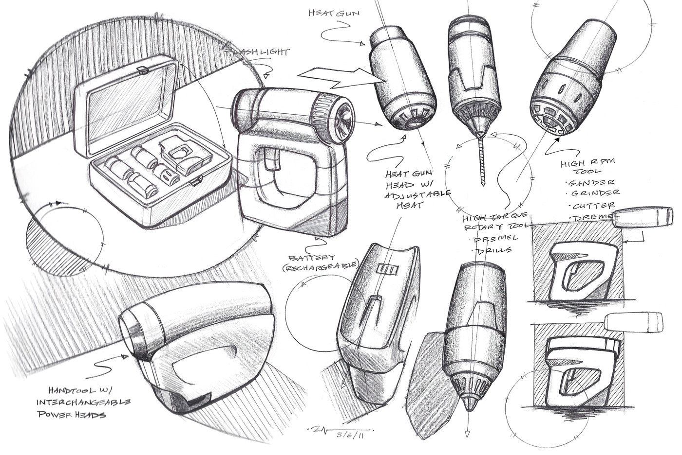 Technical Sketches by Ryan Nguyen at Coroflot.com