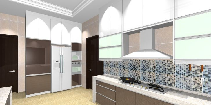 Kitchen Cabinets: Design For Wet And Dry Kitchen. Dry And Wet Kitchen By Made In Design Studio At Photos For Kitchen Pc Hd Pics