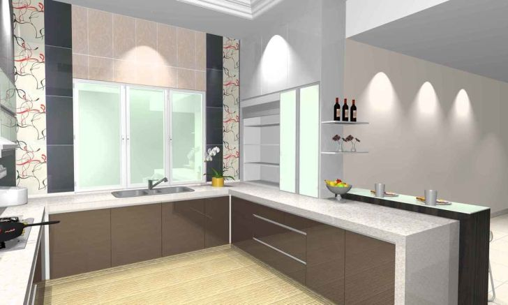Full hd design for wet and dry kitchen desktop kitchen by made in studio at
