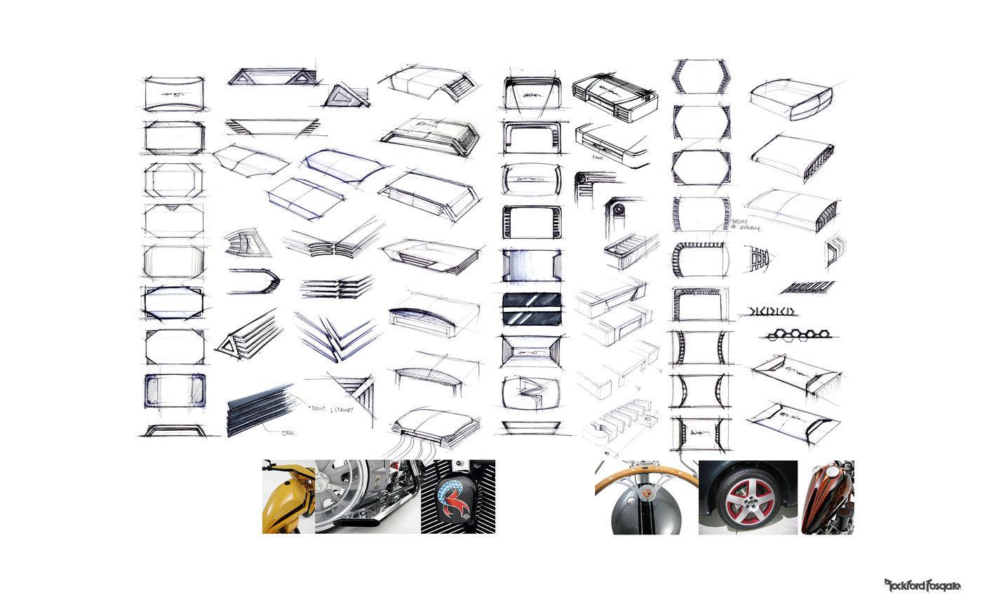 Rockford Fosgate Car Audio by kit mok at Coroflot.com