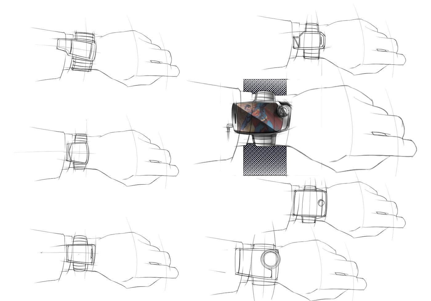 Smart Phone Sketching Rending Exercise by Alexander Farrow