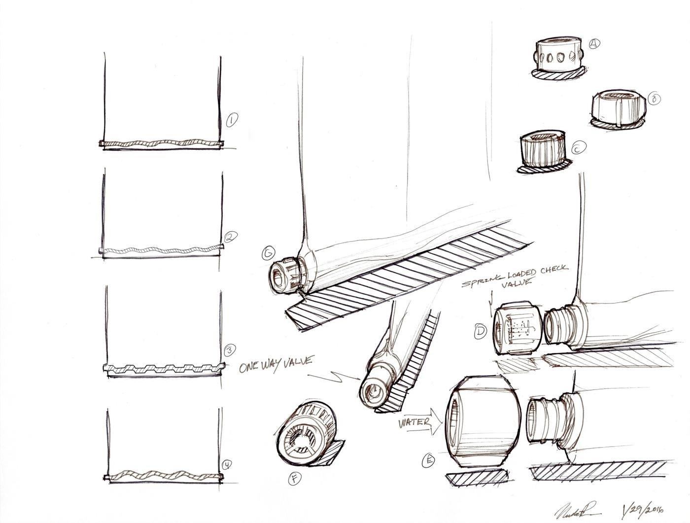 Sketching by Nicholas Pennington at Coroflot.com