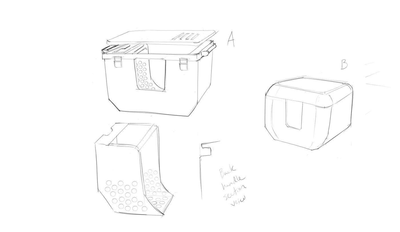 Litter Cube by Nicholas Pennington at Coroflot.com