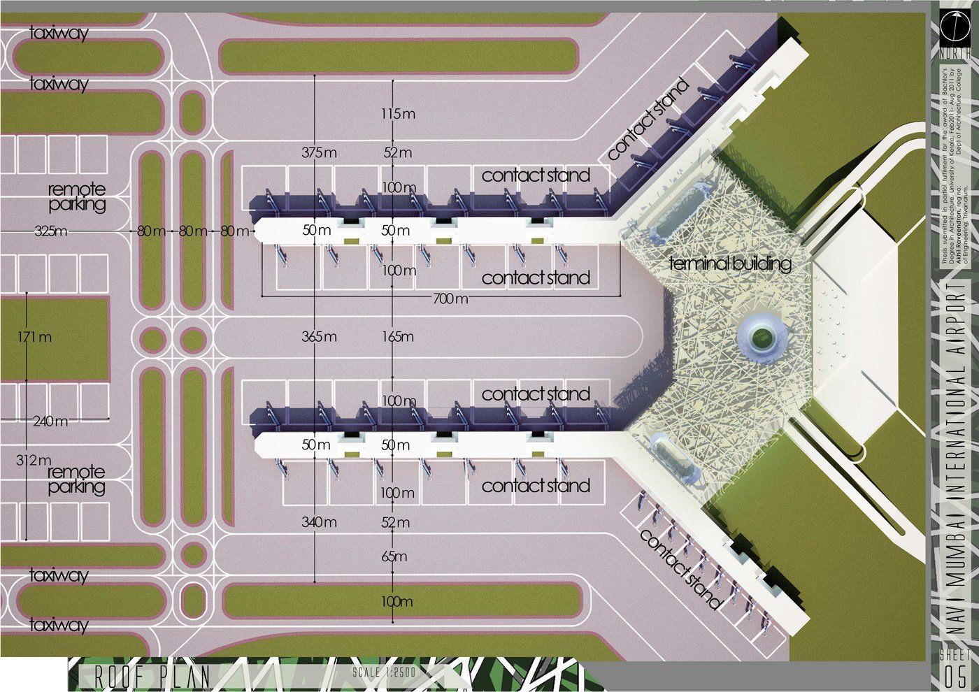 Architecture Thesis Airport By Akhil Raveendran At