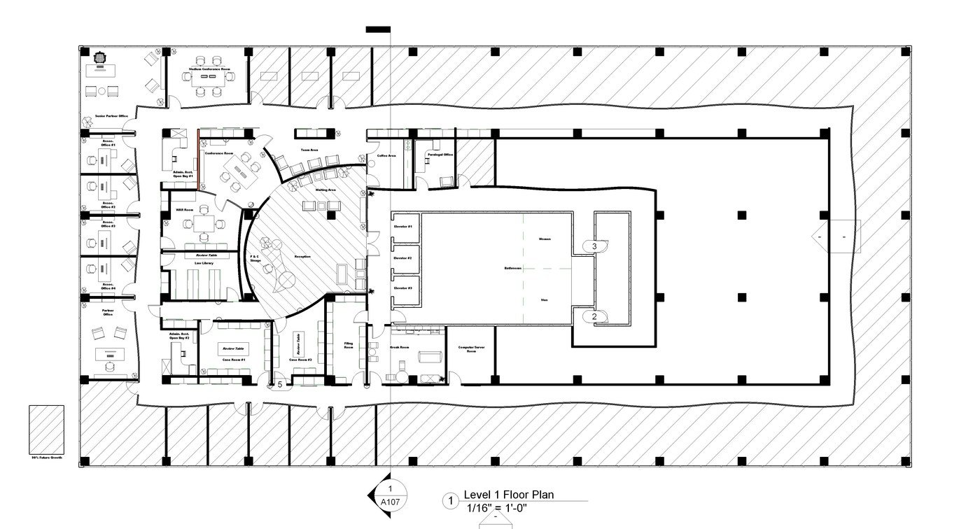 Architectural Floor / Space Plans by Jack Patterson at