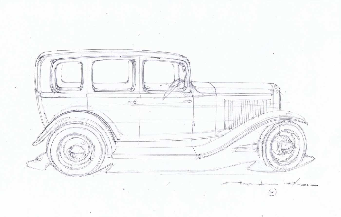 1932 ford roadster project car