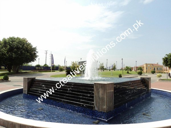 commercial water feature creative