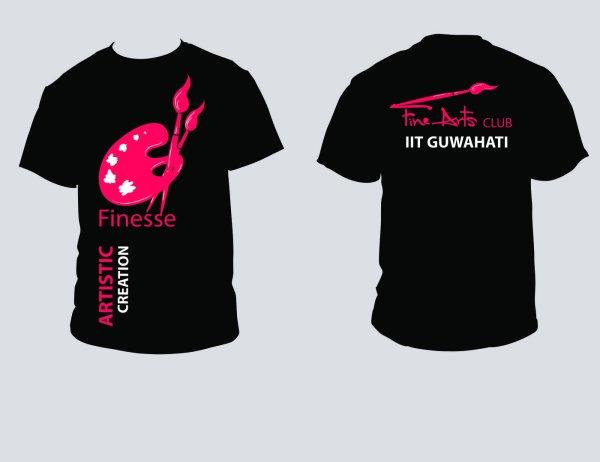 Fine Arts Club T-Shirt Designs