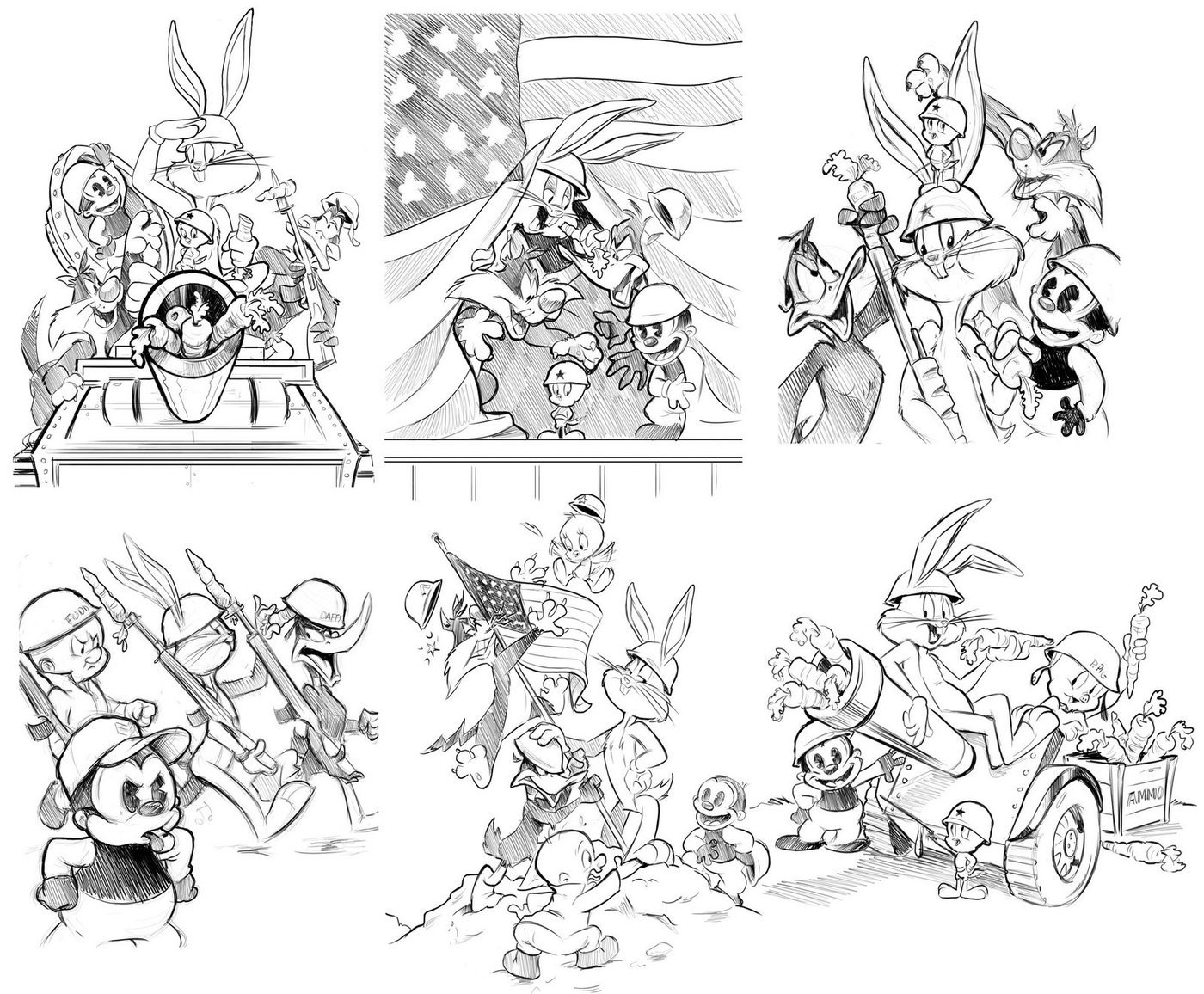 Character Art/Design by Jim Valeri at Coroflot.com