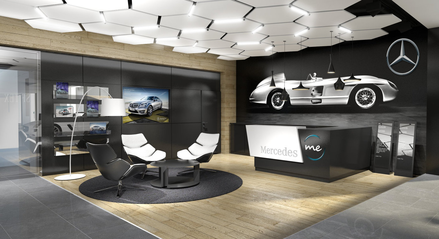 Mercedes Benz Showroom Galati RO By Alexandru Buzatu At