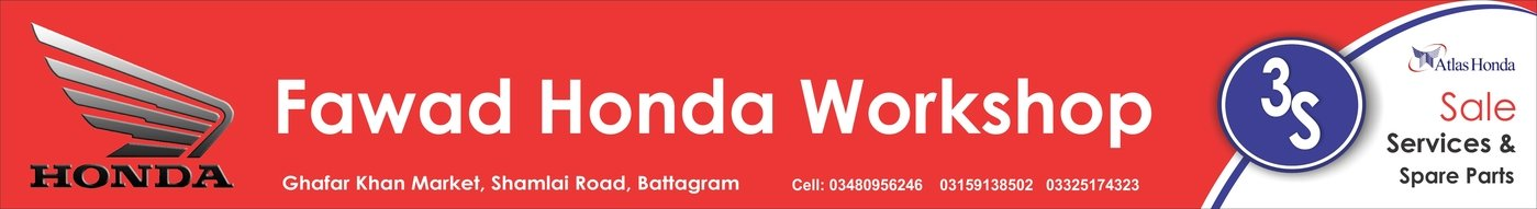 Atlas Honda Workshop