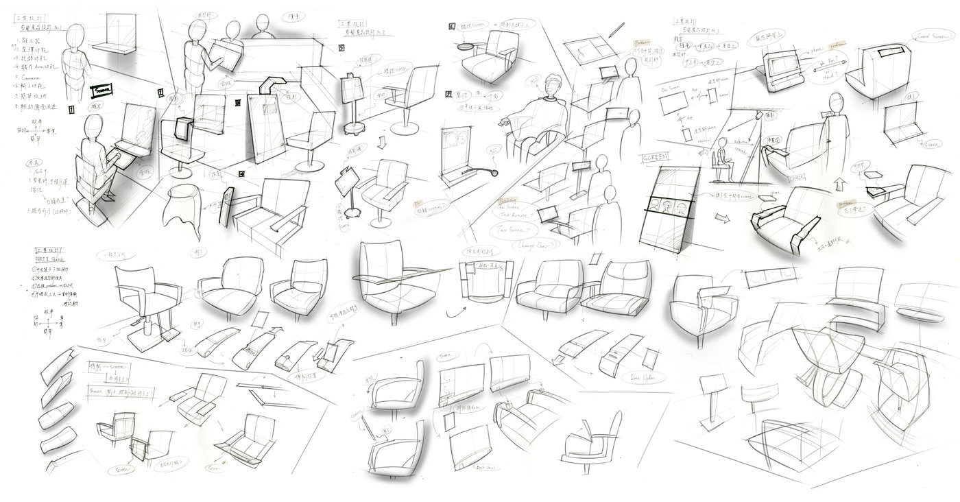 Product Idea Sketch by Willis Chen at Coroflot.com